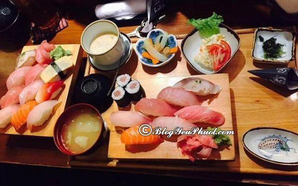 Những nhà hàng sushi ngon nhất tại Hà Nội: Địa chỉ ăn sushi ngon, nổi tiếng ở Hà Nội
