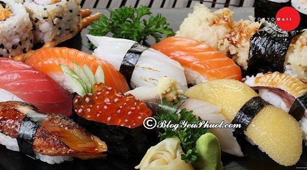 Những nhà hàng sushi ngon nhất tại Hà Nội: Hà Nội có nhà hàng nào ăn sushi ngon, giá rẻ?