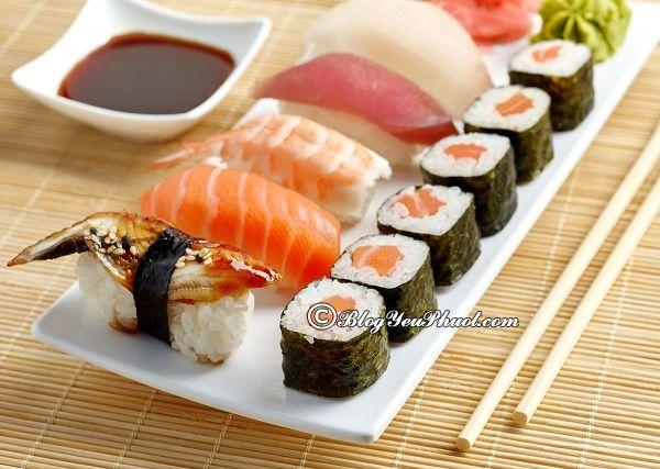 Những nhà hàng sushi ngon nhất tại Hà Nội: Ăn sushi ở đâu ngon, nổi tiếng, giá bình dân ở Hà Nội?