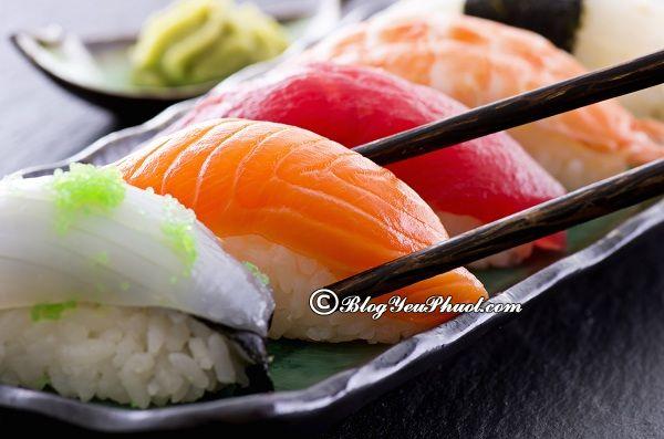 Những nhà hàng sushi ngon nhất tại Hà Nội: Đi đâu ăn sushi ngon nhất Hà Nội?