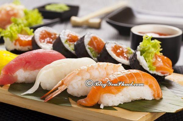 Những nhà hàng sushi ngon nhất tại Hà Nội: Địa chỉ ăn sushi tươi ngon, nổi tiếng ở Hà Nội
