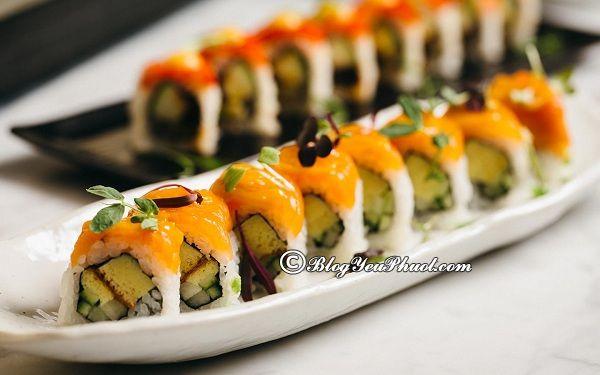 Những nhà hàng sushi ngon nhất tại Hà Nội: Địa chỉ ăn sushi ngon, giá rẻ, nổi tiếng ở Hà Nội