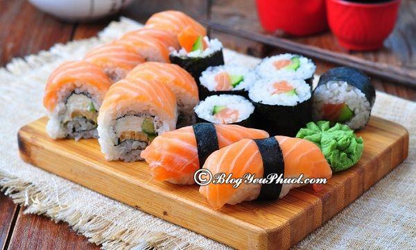 Những nhà hàng sushi ngon nhất tại Hà Nội: Ăn sushi ở đâu Hà Nội ngon, bổ, rẻ?