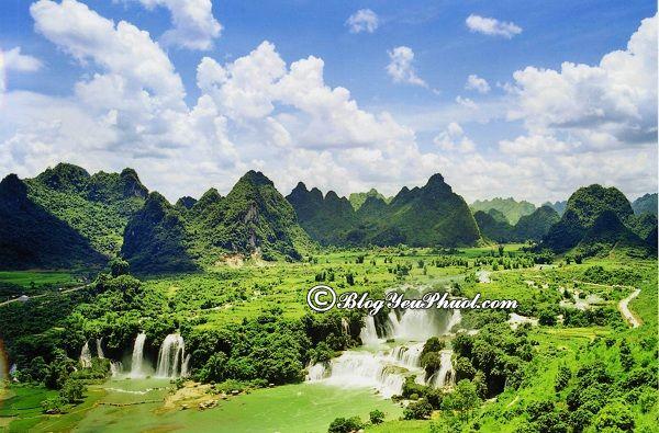 Du lịch Cao Bằng nên đi đâu chơi? Địa điểm tham quan, vui chơi, chụp ảnh, ngắm cảnh đẹp ở Cao Bằng