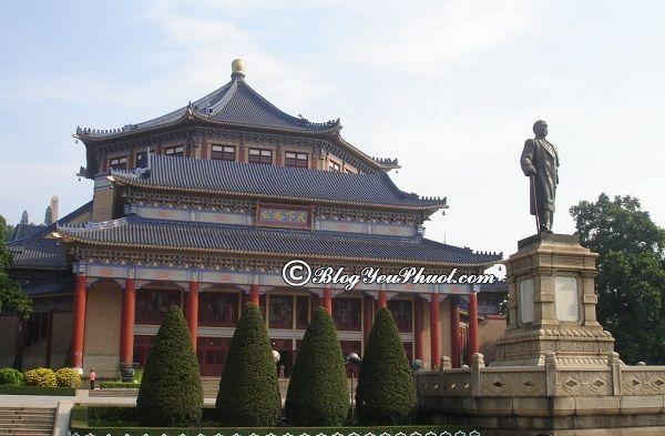Nên đi đâu chơi khi du lịch Quảng Châu? Địa điểm du lịch nổi tiếng ở Quảng Châu