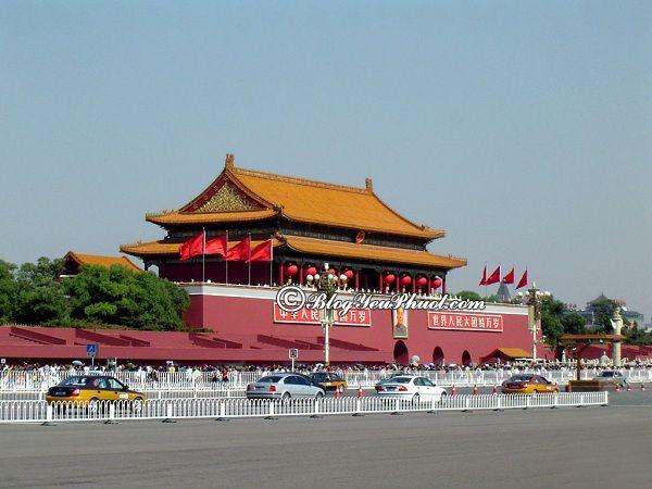 Những địa điểm du lịch nổi tiếng ở Bắc Kinh