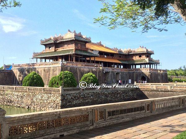 Những điểm du lịch nổi tiếng Huế: Nơi tham quan hấp dẫn nhất ở Huế