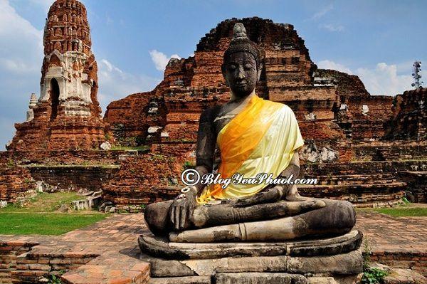 Nên đi đâu khi du lịch Thái Lan? Địa điểm tham quan, du lịch đẹp, độc đáo ở Thái Lan nên tới