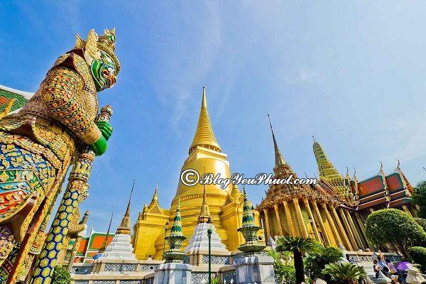 Những điểm tham quan không thể bỏ qua tại Thái Lan: Thái Lan có những địa điểm du lịch nào đẹp, nổi tiếng?