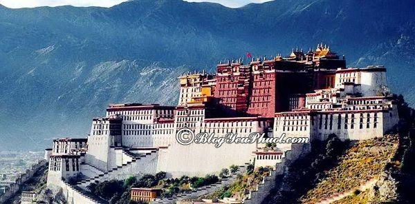 Đi đâu khi du lịch Tây Tạng? Địa điểm du lịch nổi tiếng ở Tây Tạng