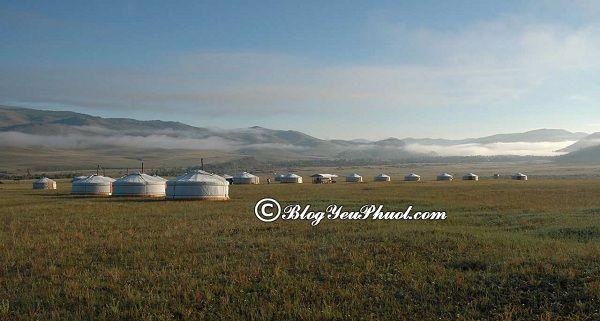 Những địa điểm tham quan ở Mông Cổ: Nơi vui chơi, du lịch nổi tiếng đẹp nhất Mông Cổ