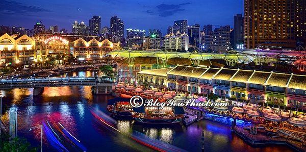 Những địa điểm tham quan miễn phí ở Singapore: Du lịch Singapore nên đi chơi ở đâu?