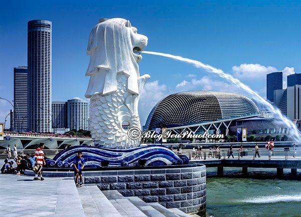 Du lịch Singapore nên đi đâu chơi? Địa điểm tham quan, vui chơi đẹp, miễn phí ở Singapore
