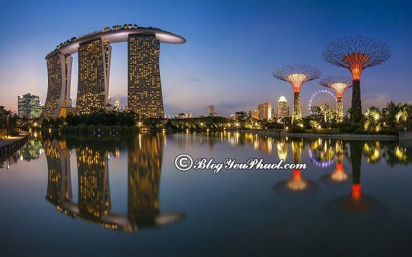 Những địa điểm tham quan miễn phí ở Singapore
