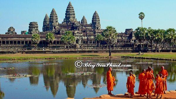 Các địa điểm tham quan du lịch tại Campuchia