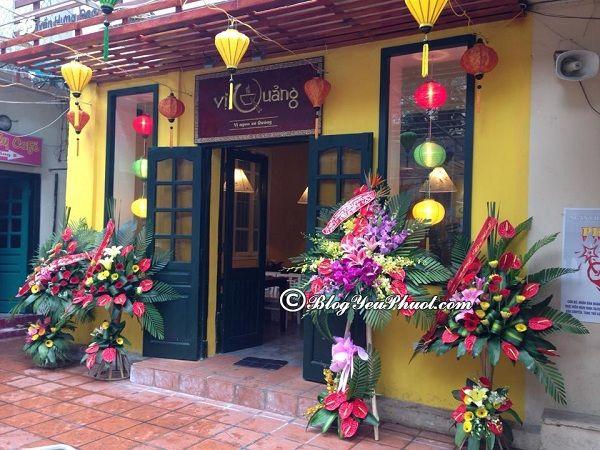 Những nhà hàng quán ăn ngon nhất ở Quận Hoàn Kiếm: Quán ăn nào ngon, giá bình dân ở quận Hoàn Kiếm?