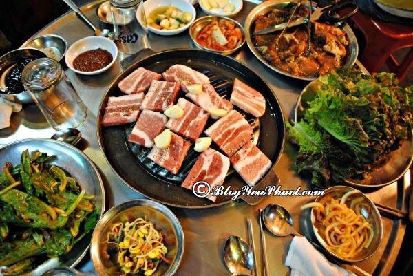 Quán ăn Hàn Quốc ngon tại Hà Nội