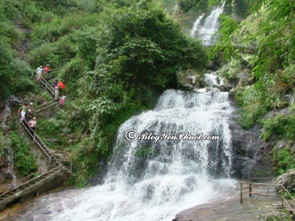 Những thác nước đẹp nhất Việt Nam- Thác Bạc, thác nước nổi tiếng nhất Việt Nam cho dân mê phượt
