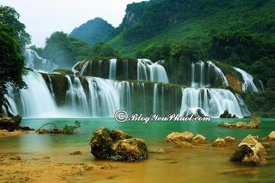 Những thác nước đẹp nhất Việt Nam- Thác bản Giốc, tổng hợp những thác nước đẹp ở Việt Nam dành cho dân phượt