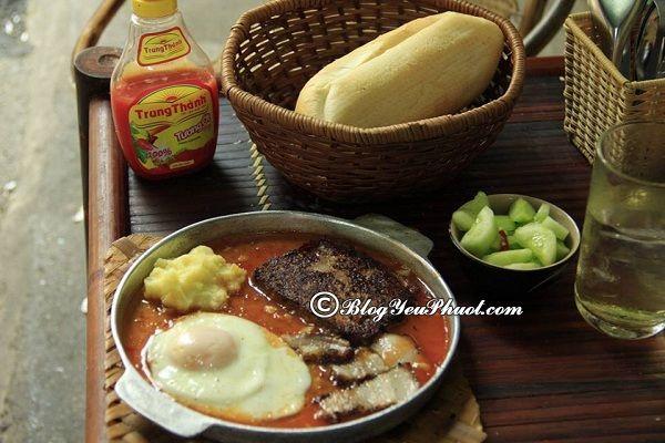Những quán bánh mỳ chảo ngon rẻ ở Hà Nội: Địa chỉ những quán bánh mì chảo ngon, hấp dẫn ở Hà Nội