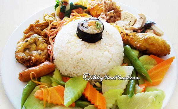 Quán ăn chay ngon và rẻ nhất Hà Nội
