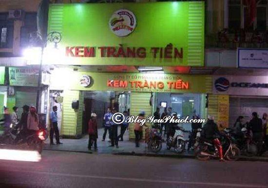 Quán kem ngon số 1 Hà Nội- quán kem Tràng Tiền, ăn kem ở đâu Hà Nội ngon, bổ, rẻ nhất?