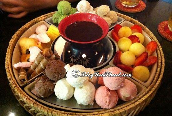 Quán kem ngon nhất Hà Nội- Lẩu kem Tây Sơn: Địa chỉ ăn kem ngon, bổ, đẹp mắt ở Hà Nội
