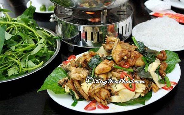 Quán lẩu ếch ngon Hà Nội: Hà Nội có quán lẩu ếch nào ngon, nổi tiếng?