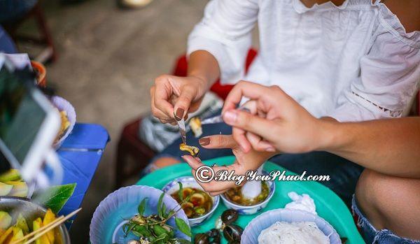Những quán ốc ngon ở Hà Nội: Địa chỉ ăn ốc ngon, giá bình dân ở Hà Nội