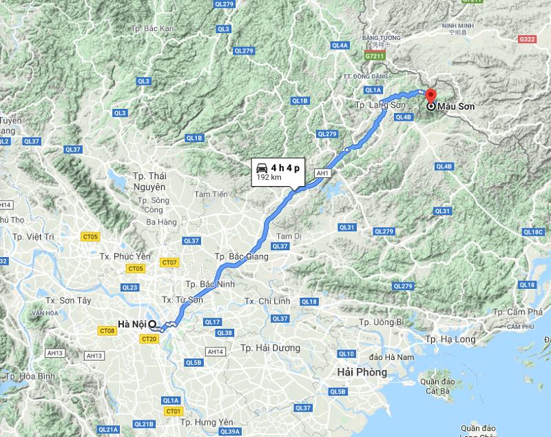 Phượt Mẫu Sơn từ Hà Nội thế nào/ Cách di chuyển từ Hà Nội tới Mẫu Sơn