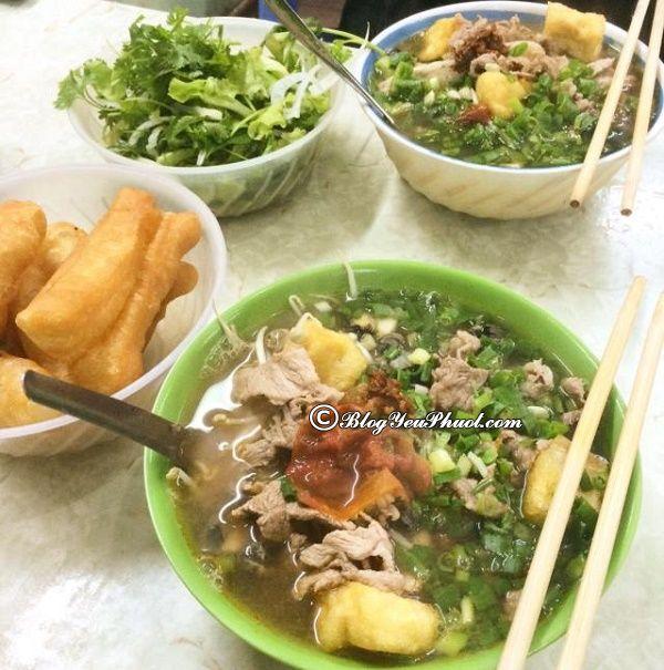 Địa chỉ ăn bún ốc Hà Nội đậm đà hương vị: Quán bún ốc ở Hà Nội ngon, nổi tiếng, giá rẻ