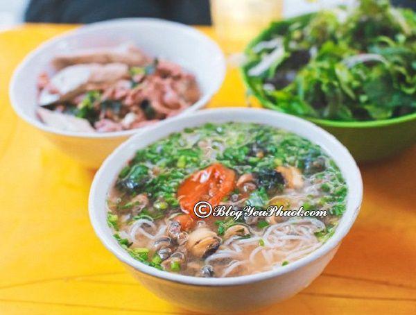 Địa chỉ ăn uống ở Hà Nội: Ăn bún ốc ở đâu Hà Nội ngon, giá bình dân?