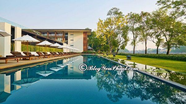 Resort cao cấp tại khu Chiang Mai Riverside: Khách sạn cao cấp ở Chiang Mai sạch đẹp, tiện nghi nên ở