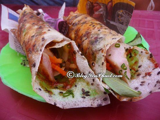 Bánh tráng cuốn dẻo - món ngon đặc sản Mũi Né: Ăn gì ở Mũi Né và những quán ăn ngon ở Mũi Né hấp dẫn du khách