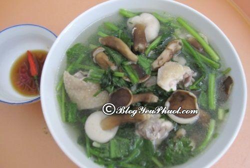 Canh nấm tràm – Món ngon khó cưỡng của Phú Quốc: Món ăn ngon nổi tiếng ở Phú Quốc