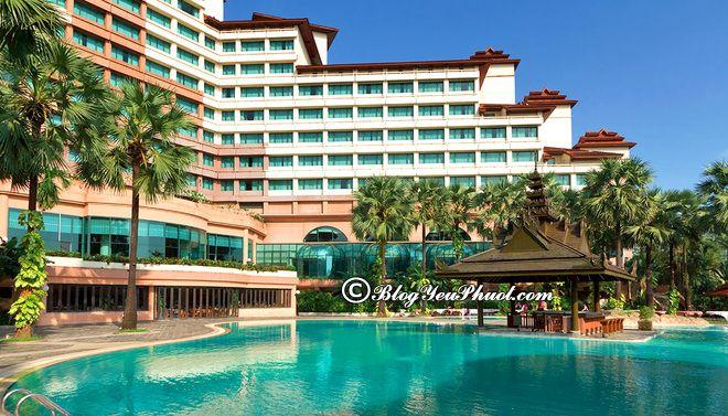 Khách sạn resort ở Bagan, Inle