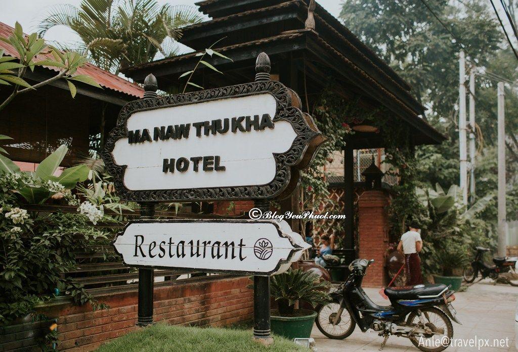 Hành trình du lịch Myanma sẽ hoàn hảo hơn khi nghỉ ngơi tại Khách sạn Manaw Thukha ở Inle Lake, Ở đâu khi du lịch Bagan, Inle