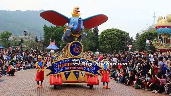 Mua vé tại Disneyland Hong Kong như thế nào? Giá vé vui chơi ở Disneyland Hong Kong