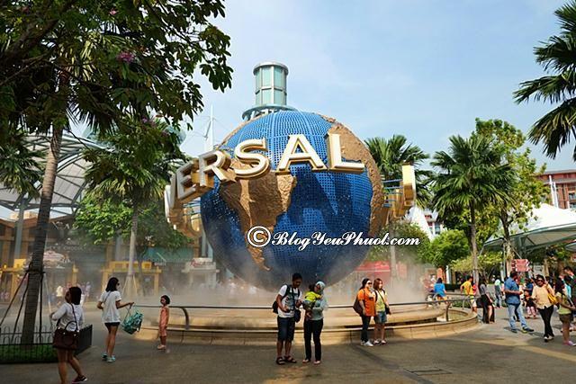 Kinh nghiệm đi Universal Studio Singapore-USS