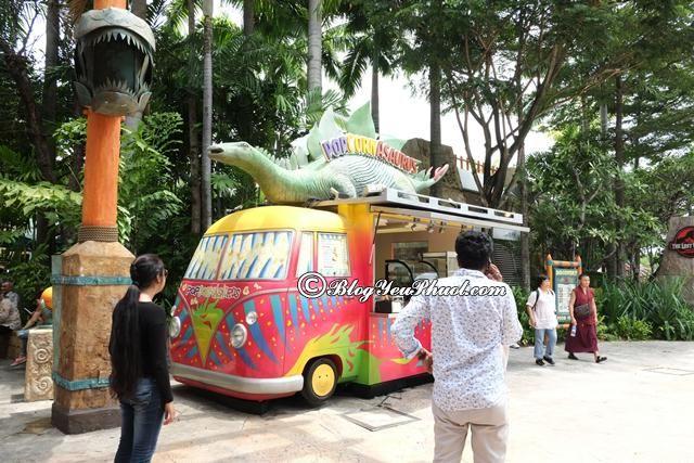 Ăn gì khi vui chơi ở Universal Studio Singapore? Những trò chơi vui nhộn, thú vị ở Universal Studio Singapore – USS