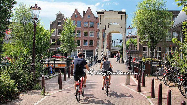 Kinh nghiệm đi lại ở Amsterdam