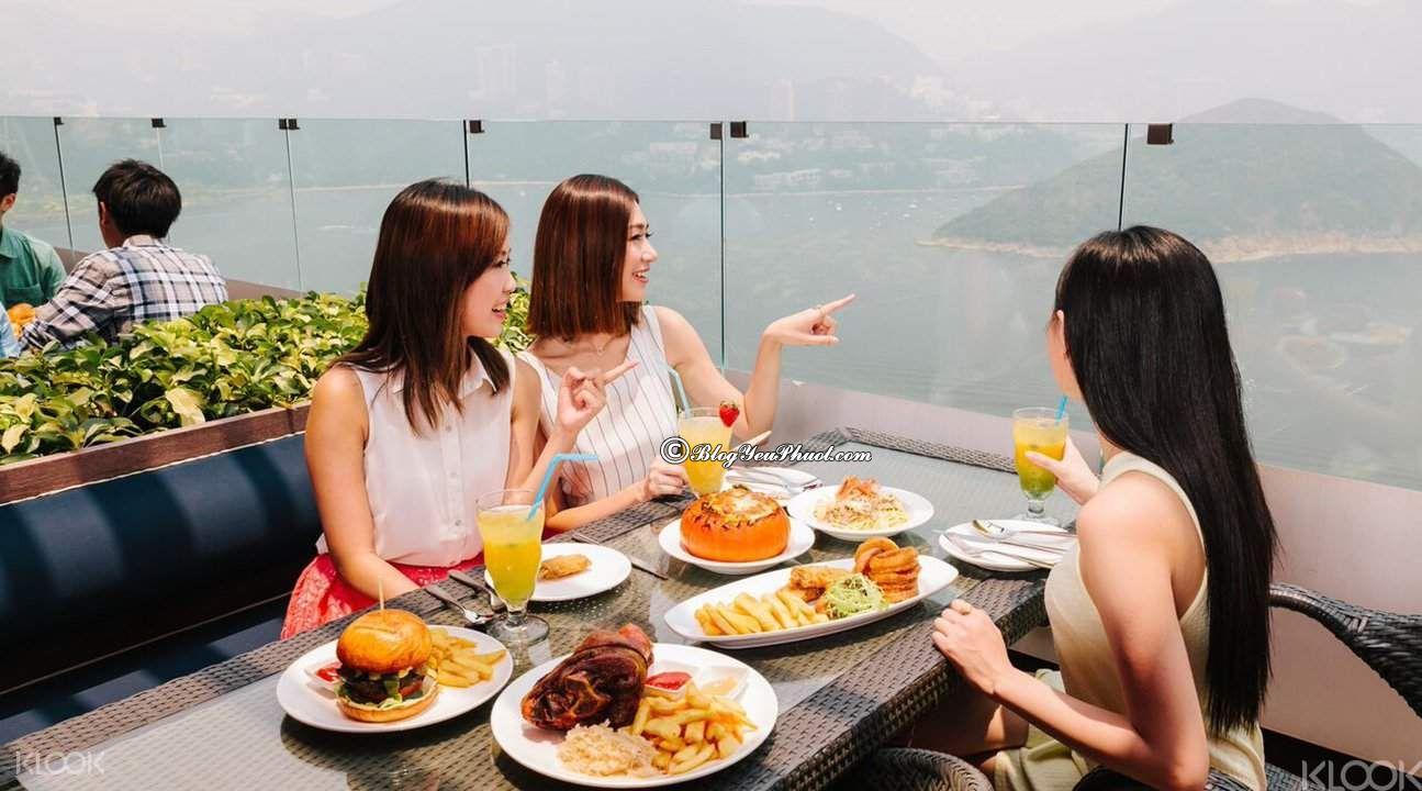 Ăn gì khi đi Ocean Park Hong Kong?- Nhà hàng quốc tế ở Ocean Park Hong Kong
