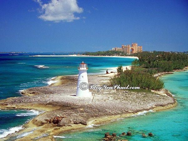 Điểm tham quan tại Bahamas