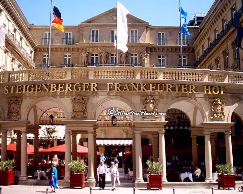 Ở đâu khi du lịch Đức? khách sạn cao cấp, bình dân, giá rẻ ở Đức đẹp, tiện nghi nên ở