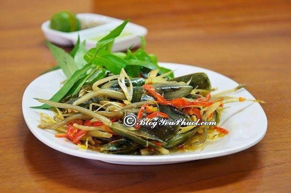 Kinh nghiệm vui chơi, ăn uống khi đi du lịch Hà Tiên: Món ăn đặc sản ngon ở Hà Tiên