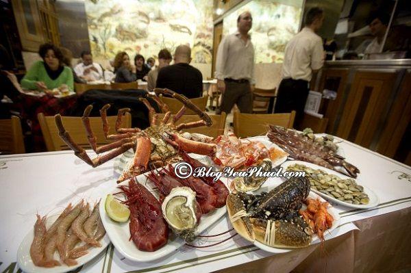 Ẩm thực Lisbon chủ yếu là hải sản: Món ăn ngon đặc sản nổi tiếng ở Lisbon, ăn gì khi đi du lịch Lisbon