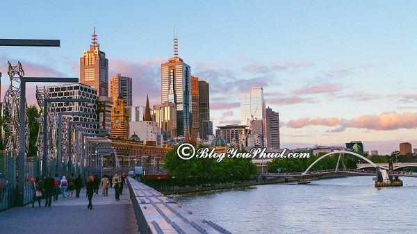 Thời điểm thích hợp đi du lịch Melbourne: Nên đi du lịch Melbourne vào mùa nào, tháng mấy?