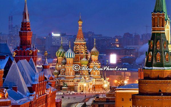 Kinh nghiệm du lịch Moscow tự túc: Hướng dẫn, tư vấn lịch trình tham quan, vui chơi khi du lịch Moscow