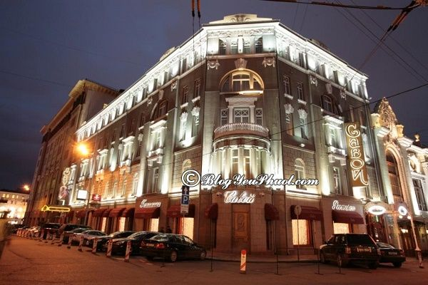 Ở đâu khi đi du lịch Moscow? Khách sạn ở Moscow đẹp tiện nghi, giá tốt