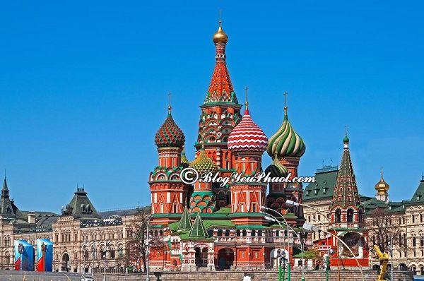 Điểm tham quan ở Moscow: Hướng dẫn, tư vấn lịch trình tham quan, vui chơi, ngắm cảnh, chụp ảnh đẹp ở Moscow